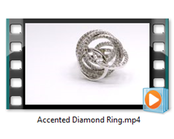 Accented Diamond Ring1